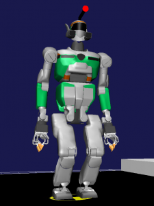 ODENS-Bチームのロボットモデル